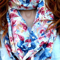 Infinity scarf,Multicolored  Infinity Scarf nice Color Scarf, Circle Scarf Loop Women's Fashion Accessories, Fabric scarves