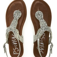 Kids&#x27; PSNYC Beaded Knot Sandals - PS From Aeropostale
