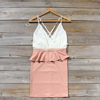 Dusty Rose Dress, Sweet Women's Party Dresses