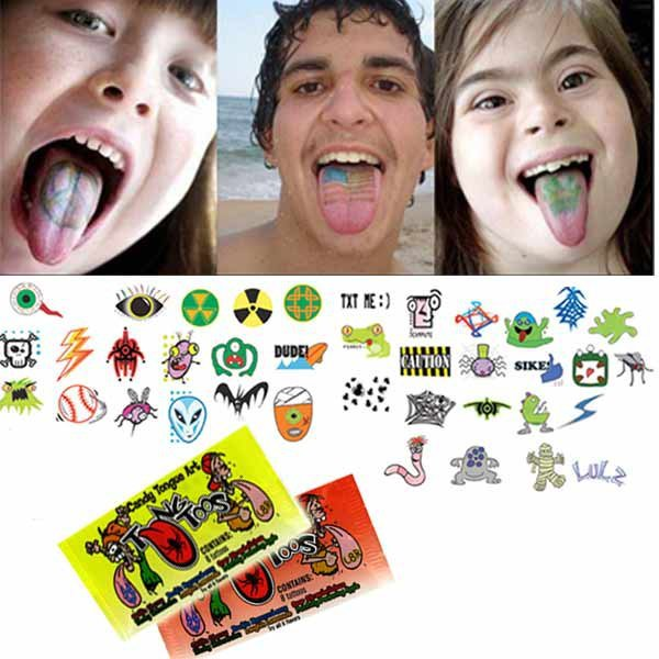 Tongue Tattoo Candy