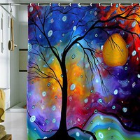 DENY Designs Madart Inc. Winter Sparkle Shower Curtain