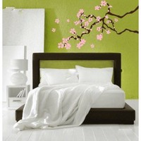 Cherry Blossom Branch Vinyl Wall Decal Sticker Graphic By LKS Trading Post