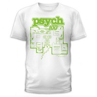 Psych 100 Clues Floor Plan T-Shirt