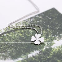 girlsluv.it - 4-leaves-clover necklace, 2 colors