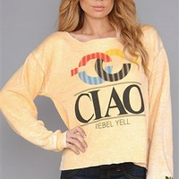 Rebel Yell Gold Ciao Sweatshirt`