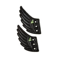 Shwings Shoe Wings, Black, at Journeys Shoes