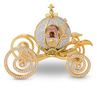 Disney Jeweled Cinderella Coach Figurine by Arribas | Disney Store