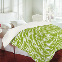 DENY Designs Home Accessories | Lisa Argyropoulos Diamonds Are Forever Fern Duvet Cover