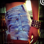 Vintage Levi's high waisted denim cut off shorts by Jeansonly
