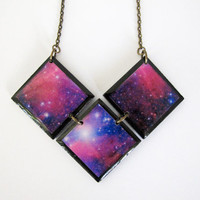 Cosmic Necklace v2 by NinaMantra on Etsy
