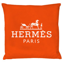 Hermes Paris Pillow-Blood Orange | hudiefly