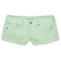 Empyre Girls Dani Mint Green Denim Shorts