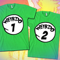 Weirdo 1 through 12 / 32$ at skreened.com 27$ at lookhuman.com