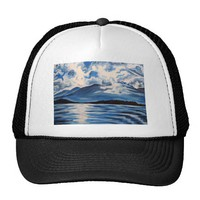 Blue Mountain No.3 Mesh Hats at Zazzle.ca