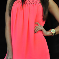 Glow For Me Tank: Neon Pink | Hope&#x27;s