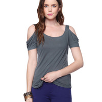 Peekaboo Shoulder Top | FOREVER21 - 2011409536