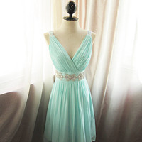 Blue Cheap 2013 Glamorous Seafoam Prom dresses from 2013 New Dresses