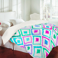 DENY Designs Home Accessories | Amy Sia Watercolor Ikat 2 Duvet Cover
