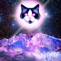 The Cat Of Oz II - Space Cat Art Print 8x8 from Funky Catsterz