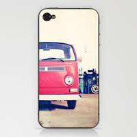 Vintage Volkswagen Bus iPhone &amp; iPod Skin by Laura Ruth  | Society6