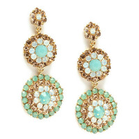 Pree Brulee - Sea-foam Fairy Dust Earrings