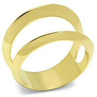 Ion Gold Plated Ring - 06559