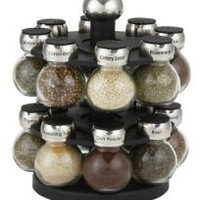Martha Stewart Collection Orbital Spice Rack, 16-Piece Set