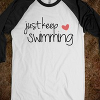 Just Keep Swimming Tank - His Princess - Skreened T-shirts, Organic Shirts, Hoodies, Kids Tees, Baby One-Pieces and Tote Bags
