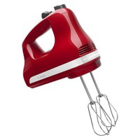 KitchenAid 5-Speed Hand Mixer - Empire Red
