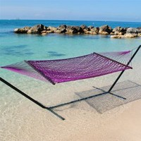 Rope Hammock (Purple)-by-htd