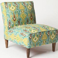 UrbanOutfitters.com > Slipper Chair - Peacock Ikat