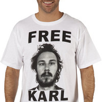 Free Karl Workaholics Shirt