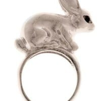 Peter Silver Tail Ring | Mod Retro Vintage Rings | ModCloth.com