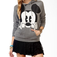 Perched Mickey Mouse Hoodie