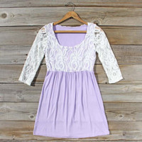 Lace &amp; Wisteria Dress, Sweet Women&#x27;s Bohemian Dresses