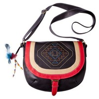 Mossimo Supply Co. Aztec Messenger - Black : Target