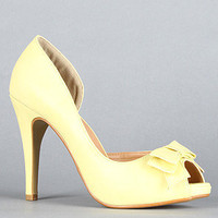 The Bow Pump in Yellow : Fiebiger : Karmaloop.com - Global Concrete Culture