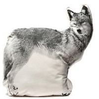 Amazon.com: Areaware Wolf Cushion: Home & Kitchen