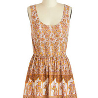 Mink Pink Elephant-astic Venture Dress | Mod Retro Vintage Dresses | ModCloth.com