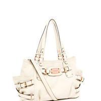 MICHAEL Michael Kors  Exclusive Medium Gansevoort Satchel, Vanilla - Michael Kors