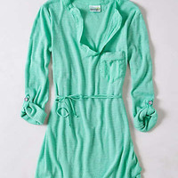 Anthropologie - Fluttered Tunic Henley