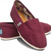 Wine Canvas Women&#x27;s Classics | TOMS.com