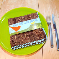 Birdy Bird Cloth Napkin Set