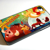 Disney Hakuna Matata 451K  iPhone Case iPhone 4 by Accessories4Yu