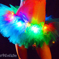 Light Up TuTu Skirt by SparkleFide on Etsy