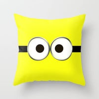 minion Throw Pillow by Cbrocoff | Society6