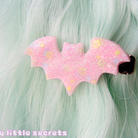 Fairy Kei Pastel Bat Hair Clip