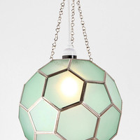 Honeycomb Glass Pendant-