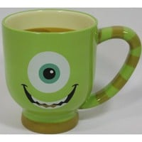 Amazon.com: Disney & Pixar Monster Inc. 'Mike Wazowski' Coffee/Tea/Hot Cocoa Ceramic Mug - Disney Parks Exclusive & Limited Availability: Everything Else