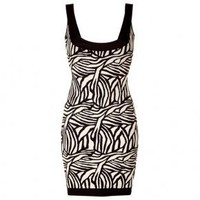 Bqueen Printed Bandage Dress H31E - Designer Shoes|Bqueenshoes.com